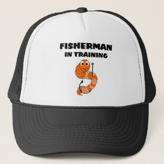 Fisherman In Training Trucker Hat