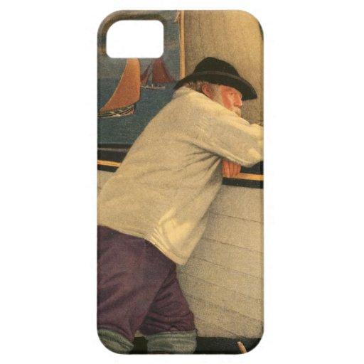 Fisherman Joseph Southall Sailboat Nautical Ocean iPhone 5 Covers