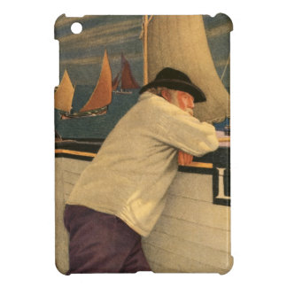 Fisherman Joseph Southall Sailboat Nautical Ocean iPad Mini Cases