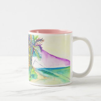 fisherman luck copy, fisherman luck Two-Tone coffee mug