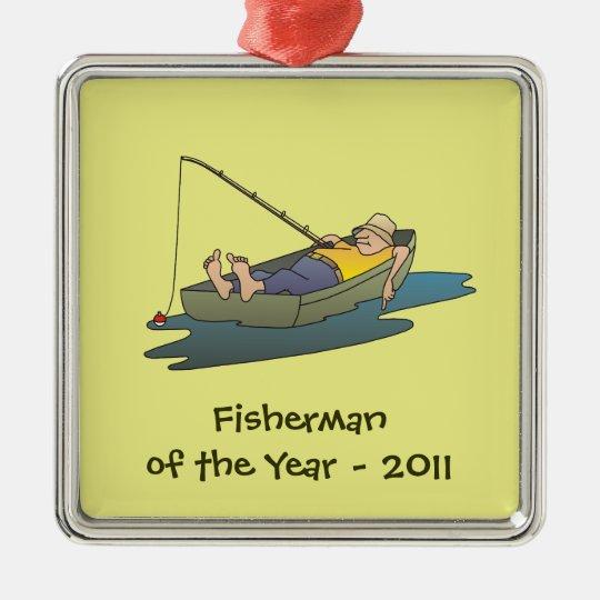 Fisherman of the Year award - lazy boat