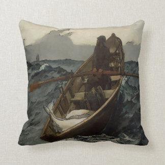 Fisherman, Old Man Cushion