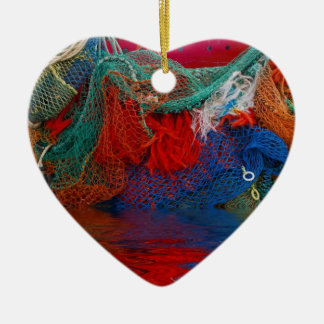 Fisherman's nets christmas ornament