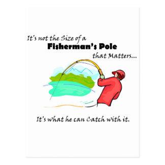 Fisherman s Pole Postcard