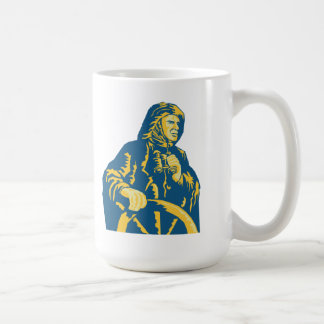 Fisherman Sea Captain Retro Coffee Mugs