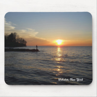 Fisherman & Sunset Mouse Mat
