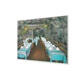 Fisherman's Cave, Brenstein's Grotto Stretched Canvas Print