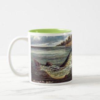 Fisherman's Coffee Mug - Pike