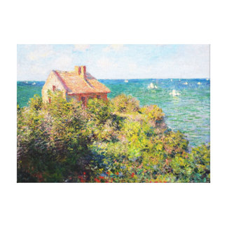 Fisherman's Cottage at Varengeville Claude Monet Gallery Wrapped Canvas
