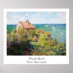 Fisherman's Cottage at Varengeville Claude Monet Posters