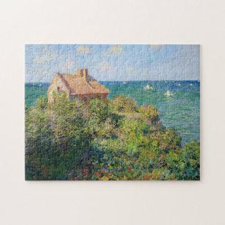 Fisherman's Cottage at Varengeville Monet Fine Art Puzzle