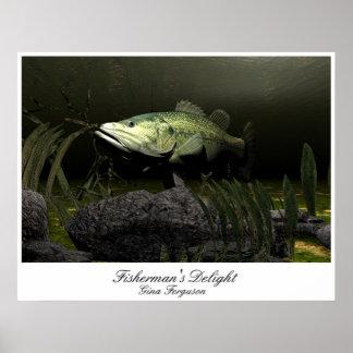 Fisherman's Delight Poster