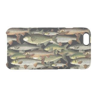 Fisherman's Fantasy Sportsman Pattern Clear iPhone 6/6S Case