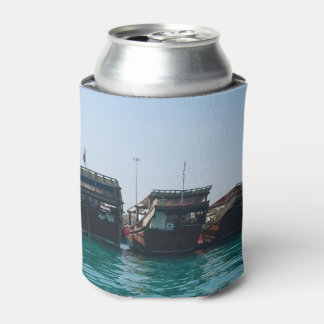 Fisherman's Harbour Custom Can Cooler
