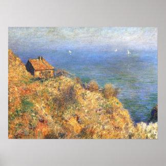 Fisherman's House at Varengeville Poster