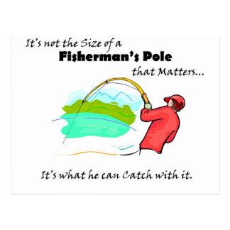 Fisherman's Pole Postcard