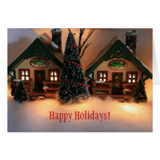 Fisherman's Village Holiday Card