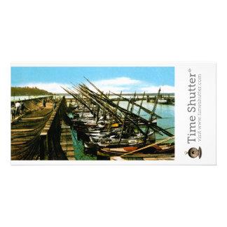 Fisherman's Wharf 1 Photo Card Template
