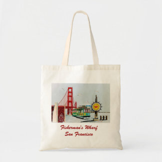 Fisherman's Wharf Budget Tote Bag