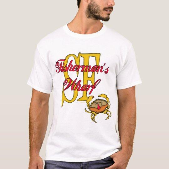 Fisherman's Wharf Crab T-Shirt