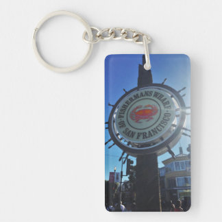 Fisherman's Wharf Key Ring