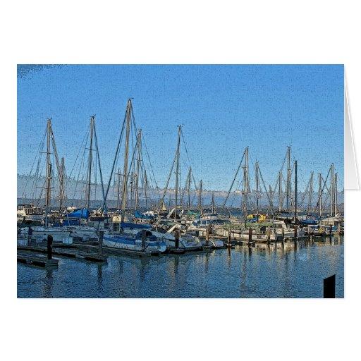Fishermans' Wharf Marina Card