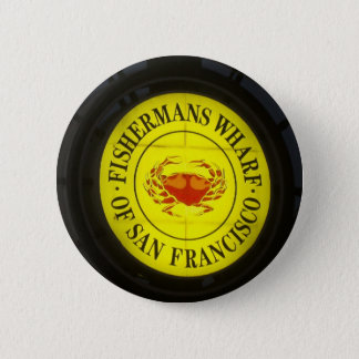 fisherman's Wharf of San Francisco 6 Cm Round Badge