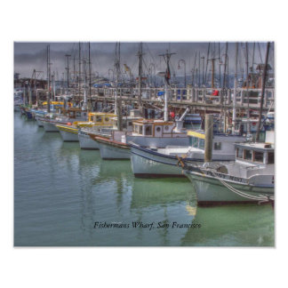 Fishermans Wharf Poster