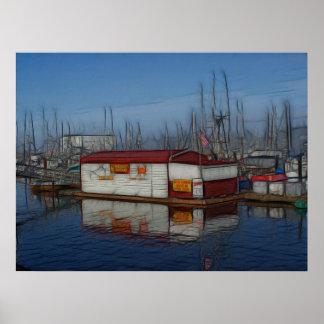 Fisherman's Wharf Print