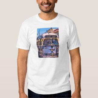 Fisherman's Wharf Streetcar Tee Shirt