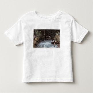 Fishermen Fishing at Commonwealth Creek Toddler T-Shirt