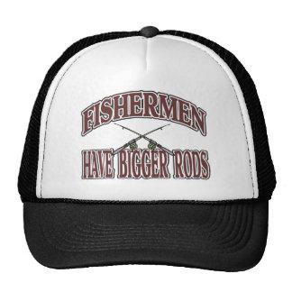 Fishermen Have Big Rods Mesh Hats