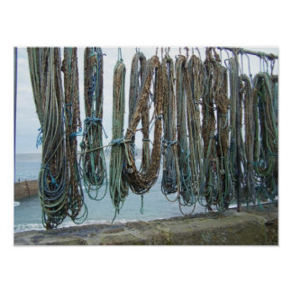 Fishermens Ropes Poster