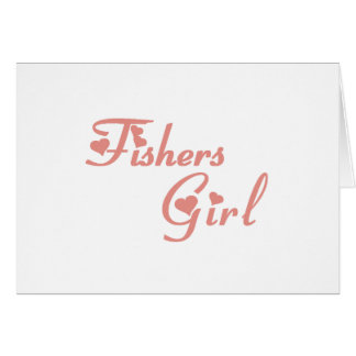 Fishers Girl tee shirts Card