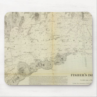 Fisher's Island Sound Mouse Mat