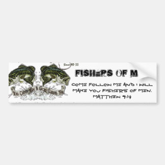 FISHERS OF MEN BUMPER STICKER