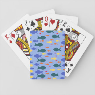 Fishes Colorful fish Classic Playing Cards