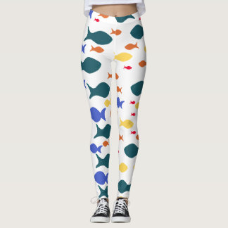 Fishes Custom Leggings