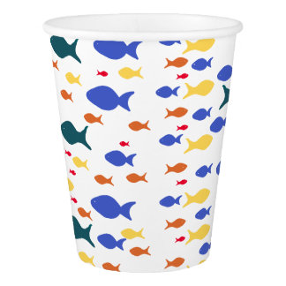 Fishes Custom Paper Cup