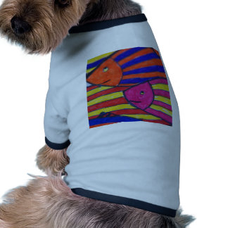 fishes doggie t-shirt