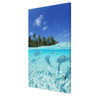 Fishes in the sea 5 canvas print