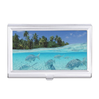 Fishes in the sea business card holder