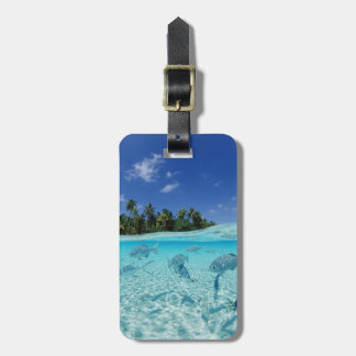 Fishes in the sea luggage tag