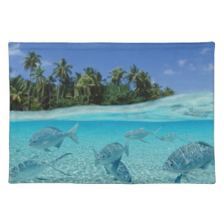 Fishes in the sea placemat