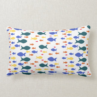 Fishes Lumbar Pillow