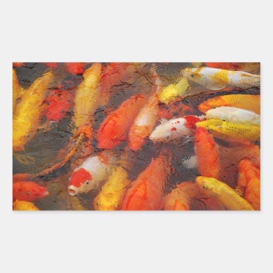 Fishes Rectangular Sticker