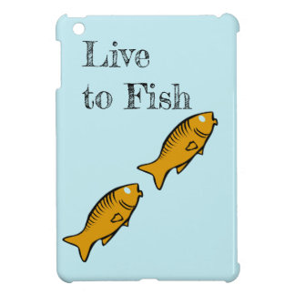 fishes swimming iPad mini cover