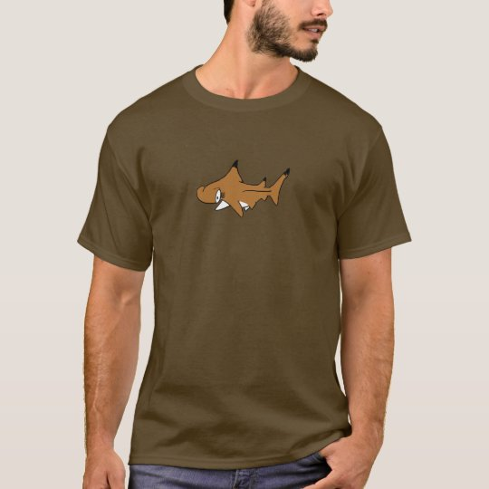 Fishfry designs Dark Hammerhead T-Shirt