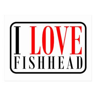 Fishhead Alabama Postcard