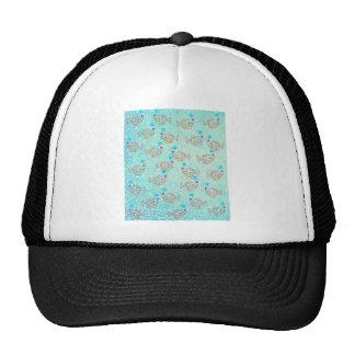 FISHIES 3 PATTERN CAP